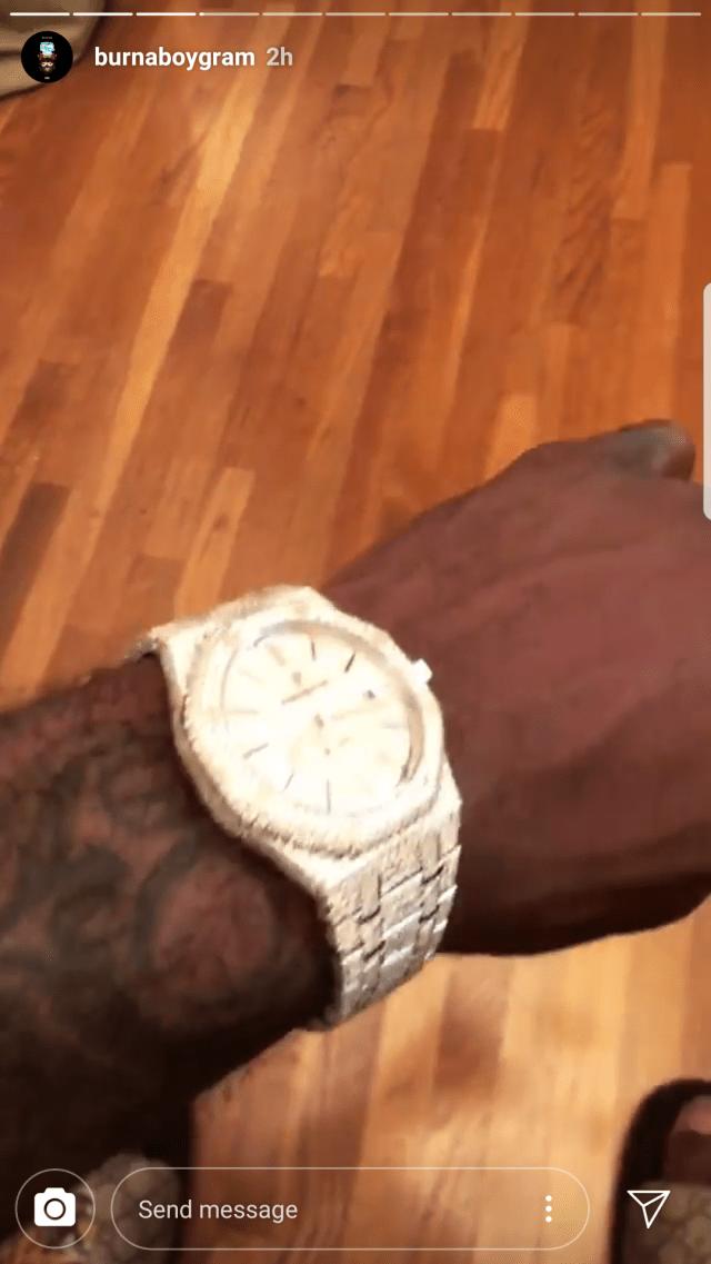 Burna Boy Audemars Piguet Wristwatch2?w=640&ssl=1