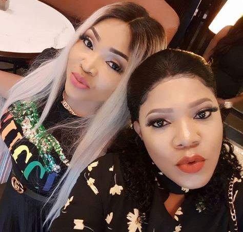 Tonto Dikeh, Mercy Aigbe, Toyin Abraham, others turn up for Bobrisky's birthday dinner (Photos)