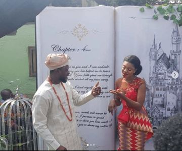 Ghanaian singer, Becca weds her Nigerian fiancé, Tobi