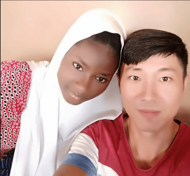 Chinese Man accepts Islam to marry a Muslim Nigerian girl