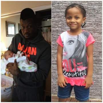 Peter Okoye Celebrates Daughter, Aliona On Her 5th Birthday (Photos)