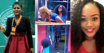 #BBNaija: Watch as Cee-C and Alex almost come to blows