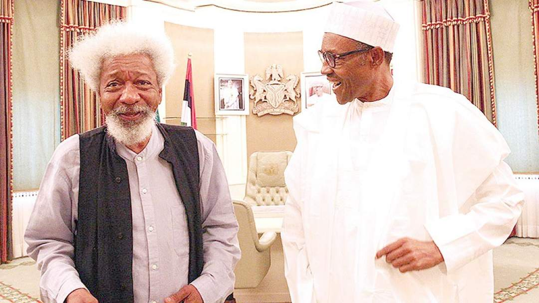 Read President Buhari's message to Wole Soyinka on his 85th birthday