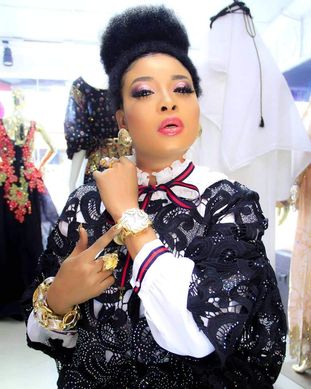 Actress, Liz Anjorin shows off her new house