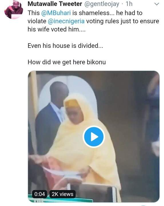 Buhari Election Voted 01