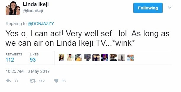 Linda Ikeji To Don Jazzy