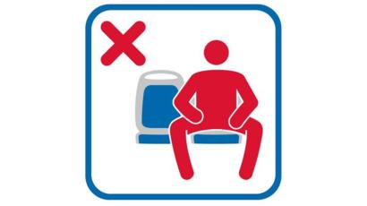 EMT is using this pictograph on all its buses