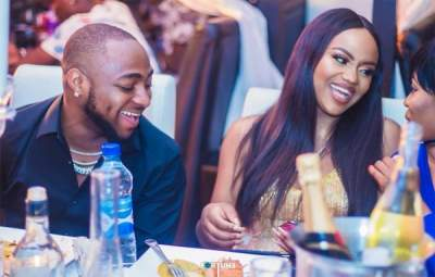Video: Davido and Chioma's First Public Fight
