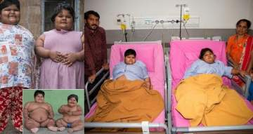 World's Fattest Sisters', Aged 6 And 8 Finally Undergo weight Surgery. (Photos)