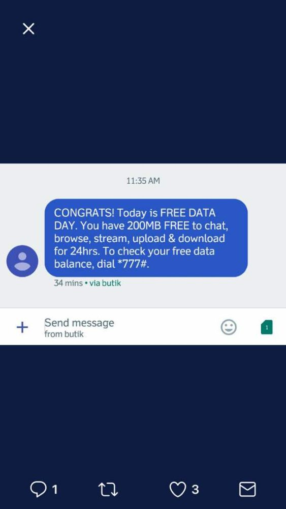 Glo Free Data Day Is On Now