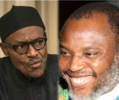 President Buhari's Crowd Vs Nnamdi Kanu's Crowd - Who Do You Think Was More Welcomed [Photos]
