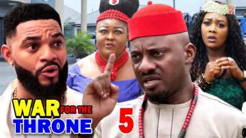 Nollywood Movie: War for the Throne (2021) (Part 5 & 6)