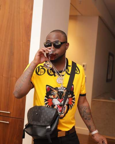One For Olu, One For Tagbo - Davido Dedicates AFRIMMA Awards To Late Friends