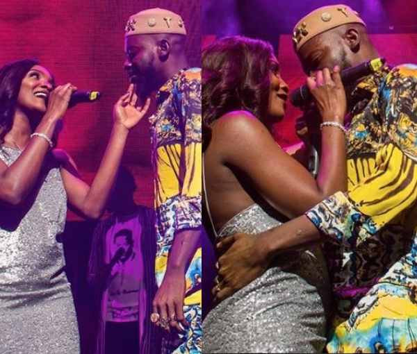 Adekunle Gold And Simi Cuddle On Stage At His Sold Out Concert In London Video Lailasnews