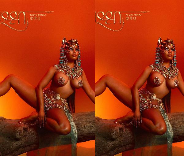 Nicki Minaj Debuts Sexually Suggestive Cover Art For %E2%80%98Queen%E2%80%99 Album Lailasnews 1