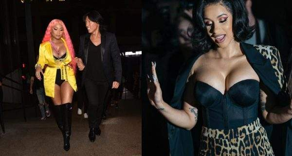 Cardi B Allegedly Tried To Fight Nicki Minaj At New York Fashion Show Last Night Lailasnews