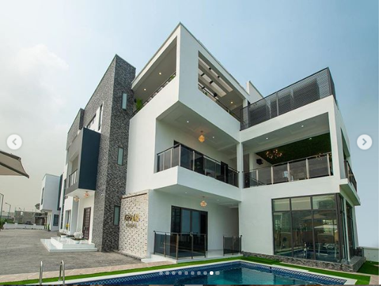 Odion Ighalos New Multi Million Naira Mansion In Lekk Lailasnews 2
