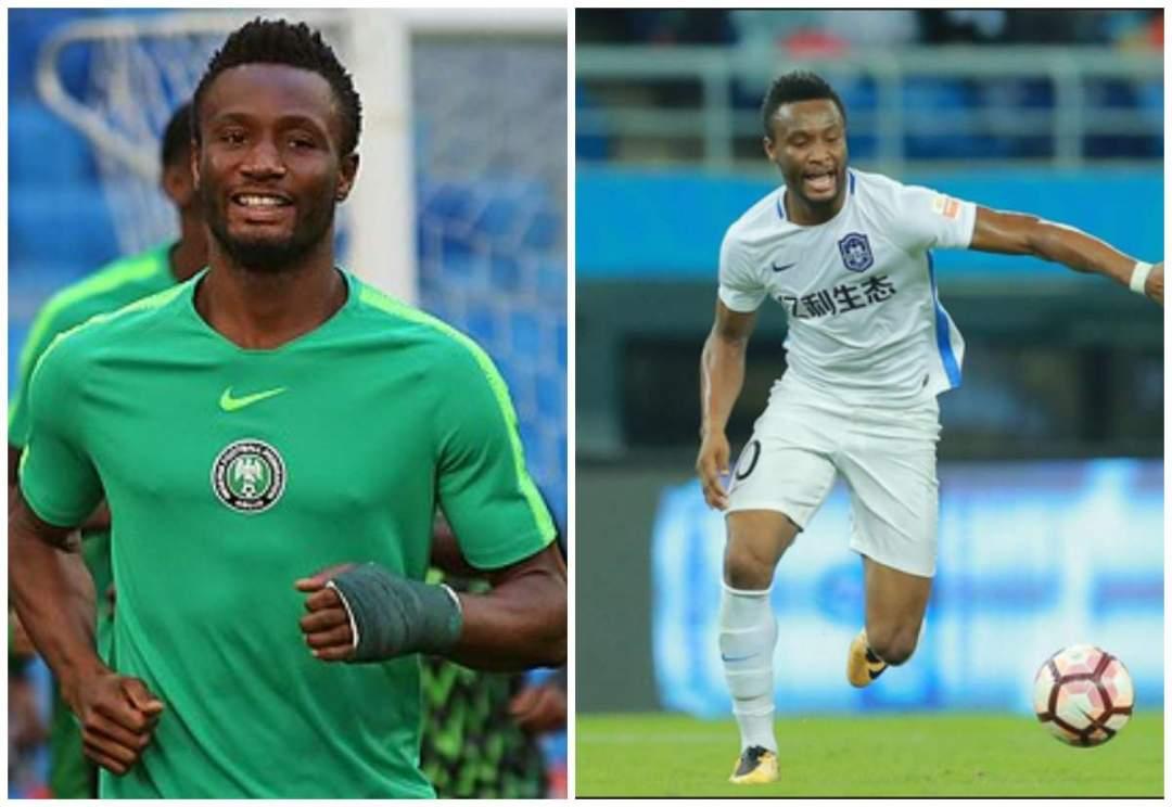 Mikel Obi Quits Chinese Club Tianjin Teda Lailasnews