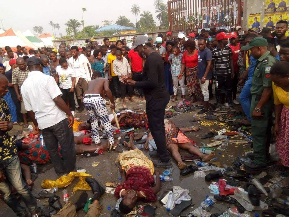 Many Killed In Stampede At APC Rally In Port Harcourt Lailasnews 2