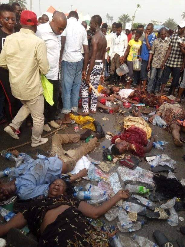 Many Killed In Stampede At APC Rally In Port Harcourt Lailasnews 3
