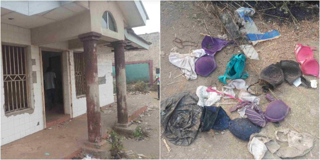New Ritualists Den In Ibadan Discovered Pants Bras Recovered Lailasnews 4