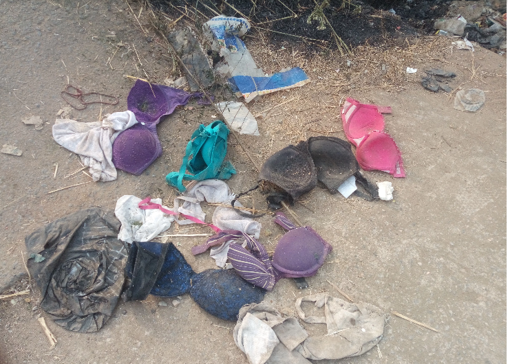 New Ritualists Den In Ibadan Discovered Pants Bras Recovered Lailasnews 2