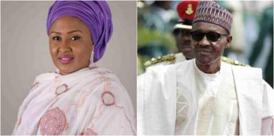 Snatch Ballot Box: Aisha Buhari mocks President Buhari?
