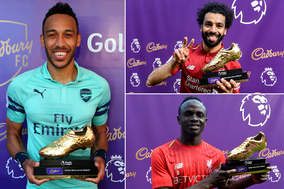 Salah Mane And Aubameyang Joint Winners Of EPL Golden Boot Lailasnews 2