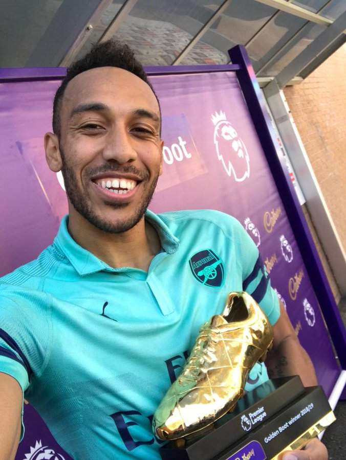 Salah Mane And Aubameyang Joint Winners Of EPL Golden Boot Lailasnews