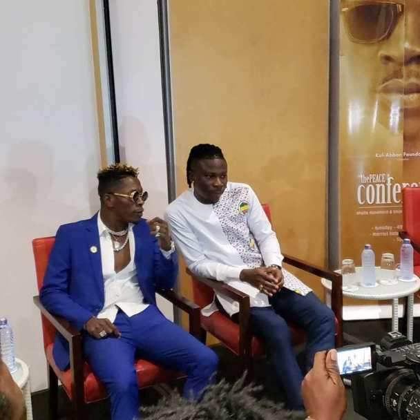 Shatta Wale And Stonebwoy Hold Press Briefing As They Settle Their Beef.d