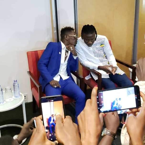 Shatta Wale And Stonebwoy Hold Press Briefing As They Settle Their Beef.e