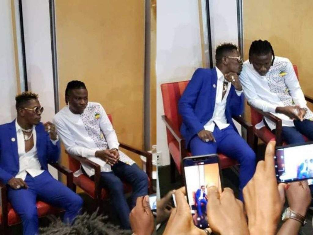 Shatta Wale And Stonebwoy Hold Press Briefing As They Settle Their Beef