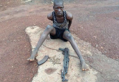 Photo: Police Nab Herdsman With AK47 In Enugu