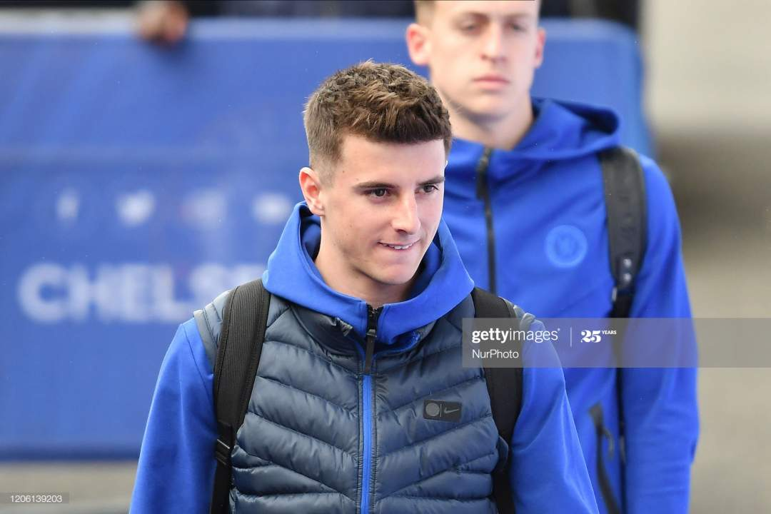 Mason Mount During The Premier League Match Between Chelsea And At Picture Id1206139203?s=28