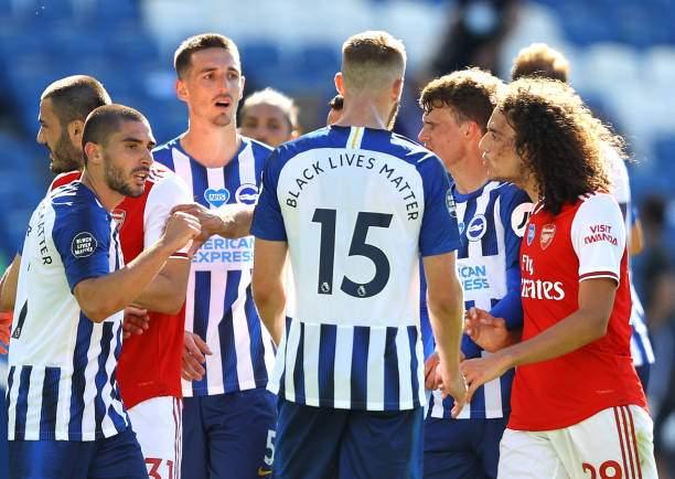 Matteo Guendouzi Of Arsenal Confronts Neal Maupay Of Brighton And Picture Id1250985708?k=6&m=1250985708&s=&w=0&h=M1ZvT8Gvz3r05TITMi9iuFXO4v20ePSIurG6A2EX6Ks=