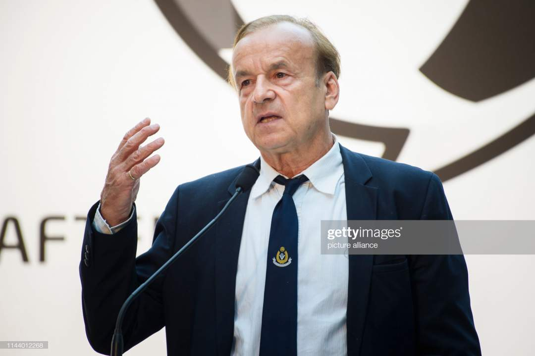May 2019 Berlin Gernot Rohr Coach Of The National Football Team Of Picture Id1144012268?s=28