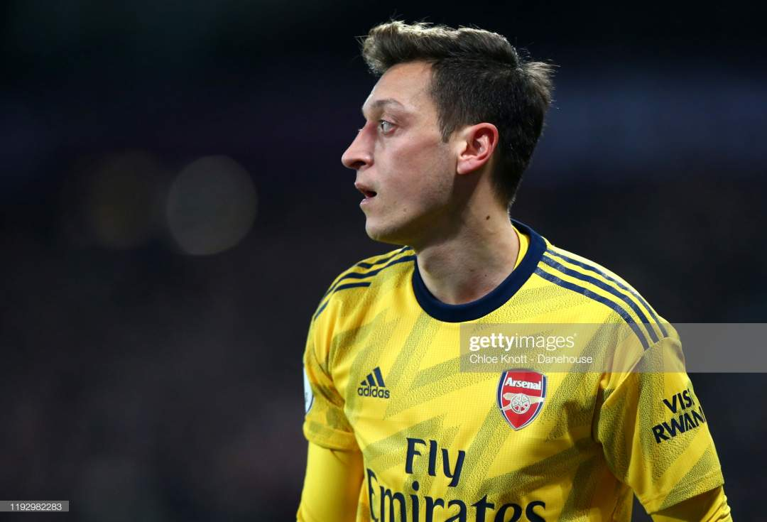 Mesut Ozil Of Arsenal During The Premier League Match Between West Picture Id1192982283?s=28