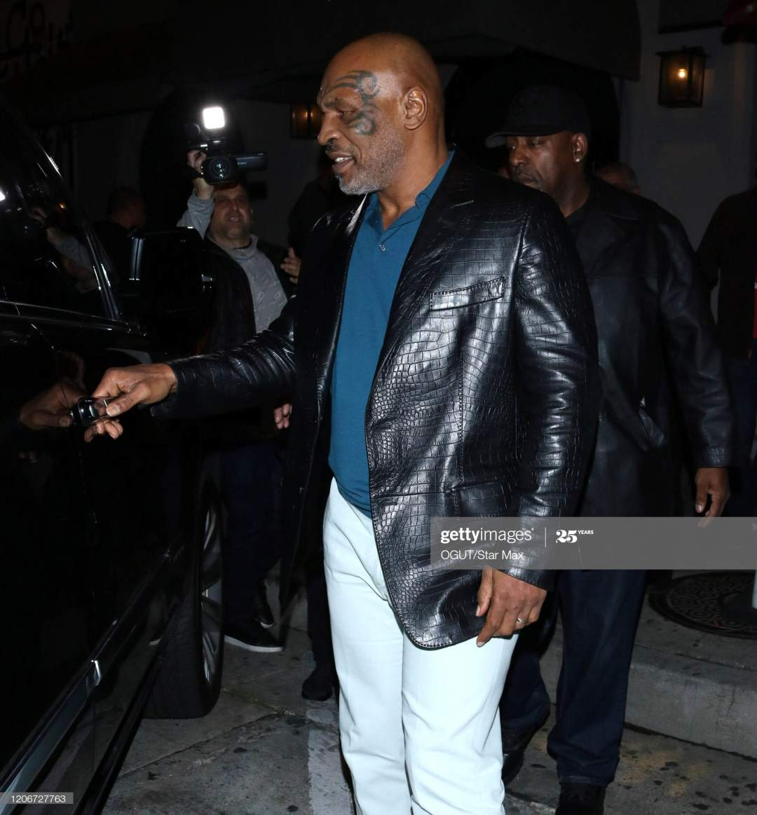 Mike Tyson Is Seen On March 12 2020 In Los Angeles California Picture Id1206727763?s=28