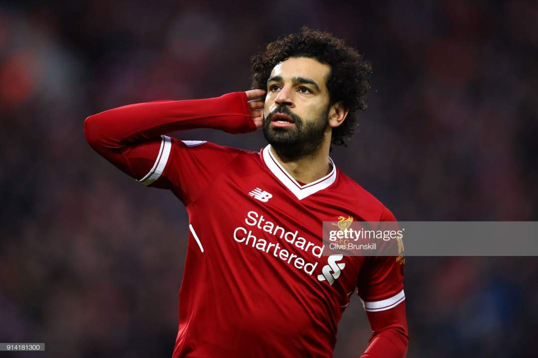 Mohamed Salah Of Liverpool Celebrates After Scoring His Sides First Picture Id914181300?s=28
