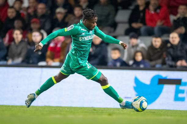 Moses Simon Of Nantes In Action During The Nimes V Nantes French 1 Picture Id1194617710?k=6&m=1194617710&s=&w=0&h=BeHeHeSPt9FfyRFNJeqMQdA5WYqKE HVK5XY86HcTfA=