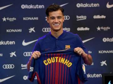 Transfer: Coutinho's shirt number at new club revealed
