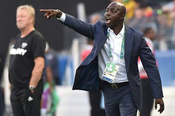 Nigerias Team Coach Samson Siasia Gestures During The Rio 2016 Games Picture Id591555228?k=6&m=591555228&s=&w=0&h=pCubbmI_Dt0PYfAroWWRG_rUzbzXrOH1PEnavB0ykrU=