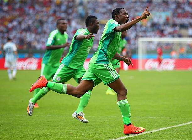 Ahmed Musa Of Nigeria Celebrates Scoring His Teams Second Goal And Picture Id451208744?k=6&m=451208744&s=&w=0&h=q_ijH4ghs2brSR32kbyMKiz1N YCIU8M36PRJ23Rm6k=