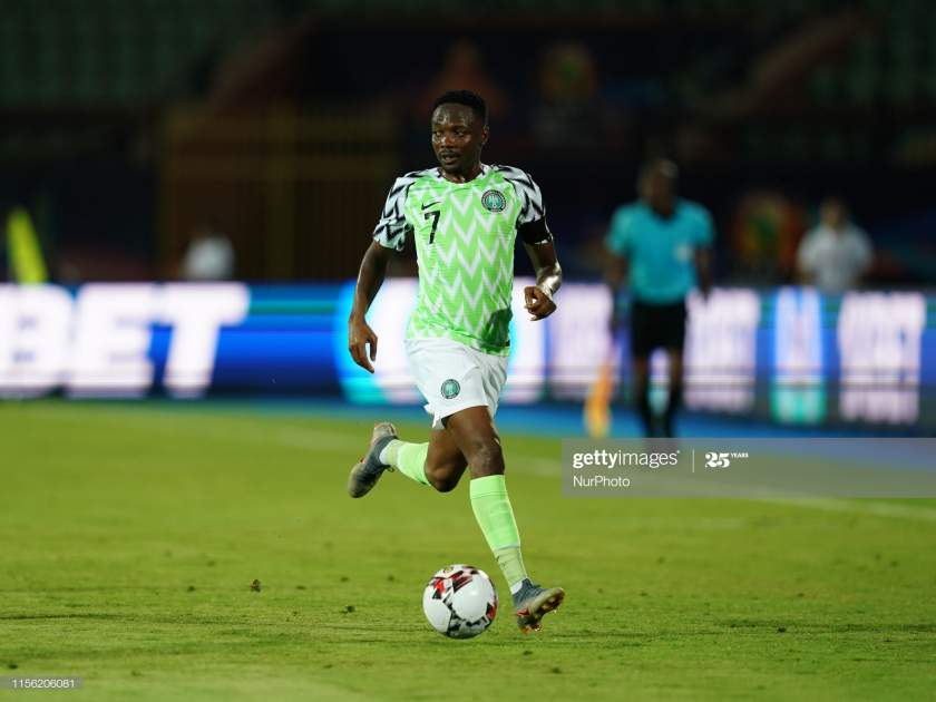 Ahmed Musa Of Nigeria During The 2019 African Cup Of Nations Match Picture Id1156206081?s=28
