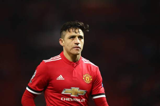 EPL: Alexis Sanchez clashes with Man Utd striker in training