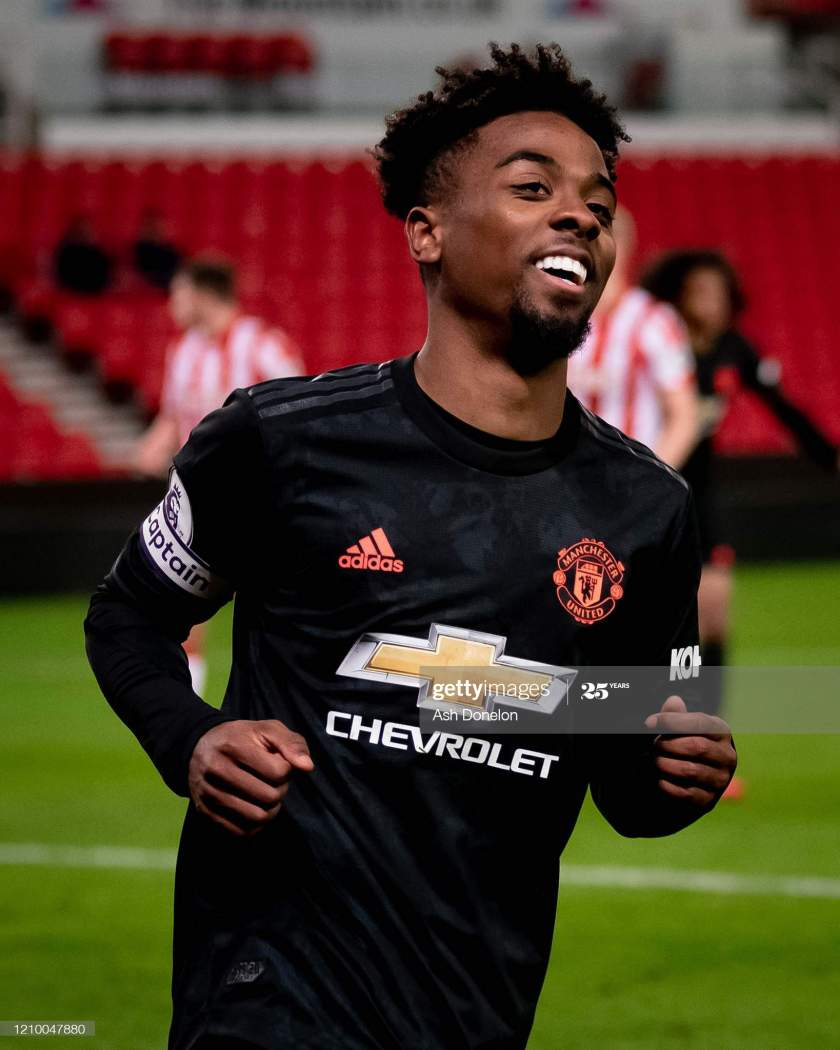 Angel Gomes Of Manchester United Celebrates Scoring Their Second Goal Picture Id1210047880?s=28