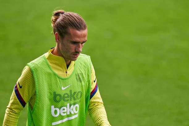 Antoine Griezmann Of Fc Barcelona Warms Up During The Liga Match Rc Picture Id1252947683?k=6&m=1252947683&s=&w=0&h=gtKRzTieBmOP7 F8a5kS5gJah8yrB2Zj49uYWzuoVzI=