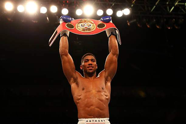 Anthony Joshua Of England Celebrates With The Belt After Defeating Picture Id520034024?k=6&m=520034024&s=&w=0&h=cTIjoQ0WvrEcMQGskmBYLaKfRVXDBURQb6NOzxTfwn8=