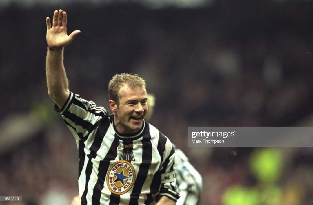 Apr 1998 Joy For Alan Shearer Of Newcastle As He Scores The Winning Picture Id1634319?s=28