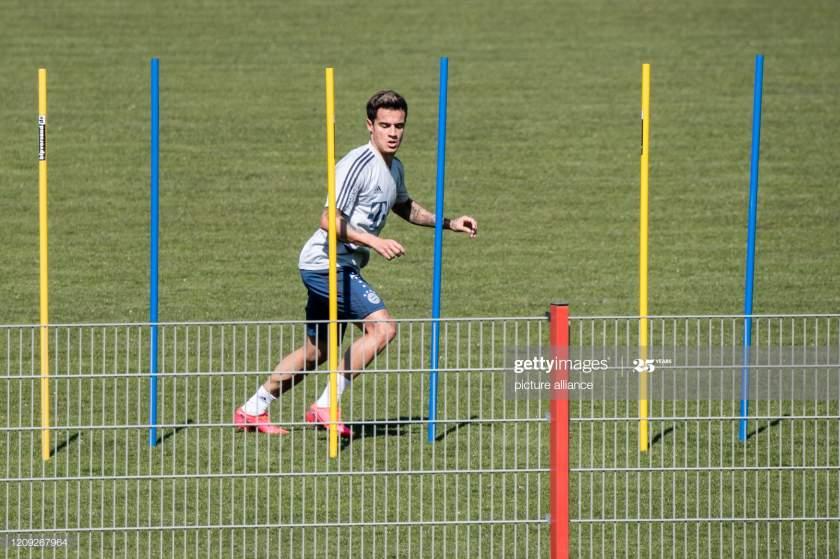 April 2020 Bavaria Munich Philippe Coutinho Of Fc Bayern Munich On Picture Id1209267964?s=28